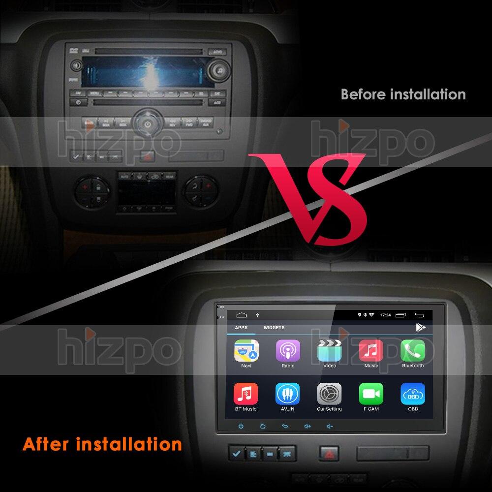 Android 10.0 DSP IPS 4G 64G samochodowy odtwarzacz multimedialny nawigacja Stereo Radio dla GMC Sierra Yukon Chevrolet Chevy Tahoe Suburban Pc