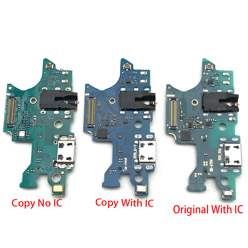 For Samsung Galaxy A7 2018 A750 Dock Connector Micro USB Charger Charging Port Flex Cable Microphone Board