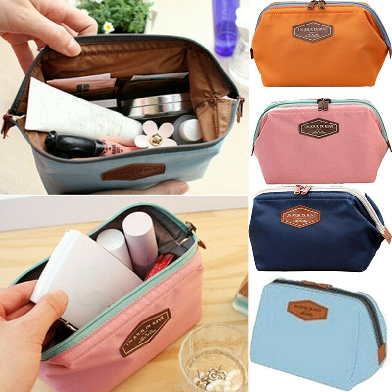 Beauty Women Lady Travel Makeup Bag Cosmetic Pouch Clutch Casual Cosmetic Bags