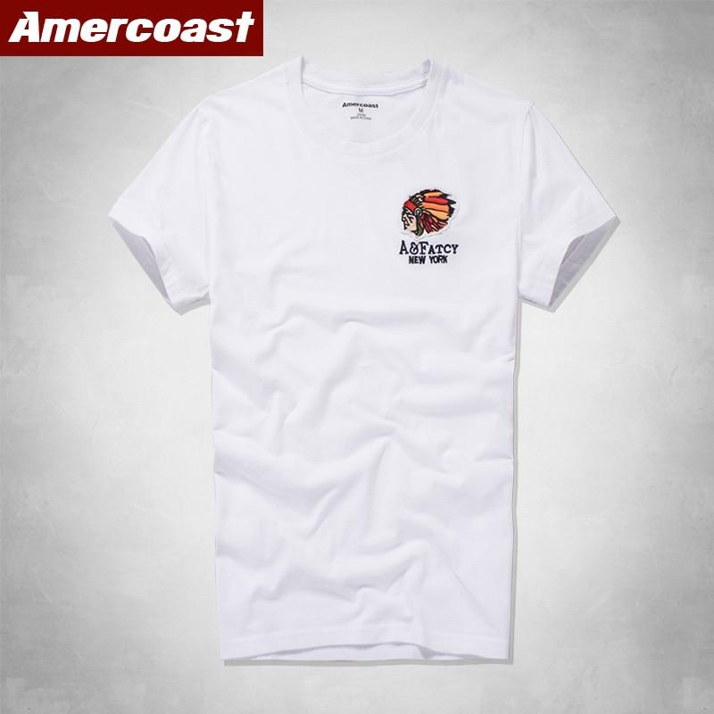 100% Cotton printing T-Shirt Men American Coast New-Fashion street fashion Famous-Brand Summer-Style big apple graphic t shirts(China)