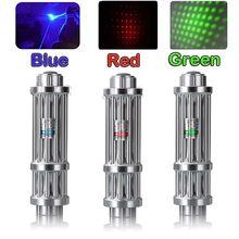 B017 verde azul vermelho laser ponteiro caneta caça de alta potência 10000m 532nm linha contínua 500 to1000 metros queima vermelho lazer caneta