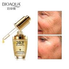 Bioaqua 24 k ouro creme facial clareamento hidratante 24 k ouro dia cremes & amp hidratantes 24 k ouro essência soro rosto cuidados com a pele