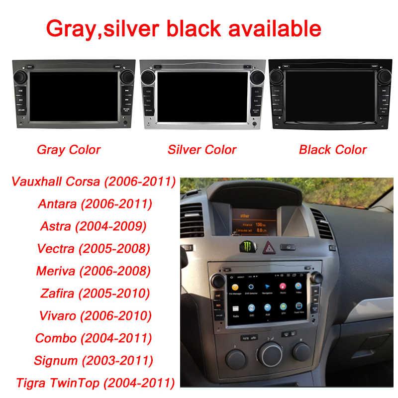 "Lecteur d'autoradio AUTOTOP 7 ""2din Android 10 pour Opel Vauxhall Astra H G J Vectra Navigation GPS RDS Wifi Mirrorlink BT sans DVD"