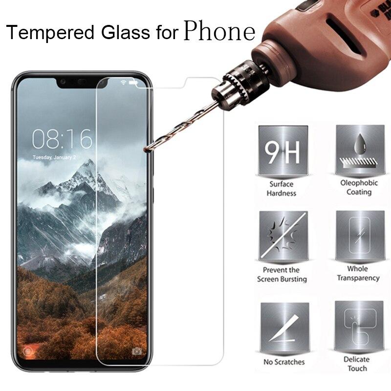Tempered Glass For ZTE Blade V8 Lite V5 V6 V7 L7 Z11 Z17 Mini Tempered Glass ZTE A5 A7 2019 Screen Protector Protective Film