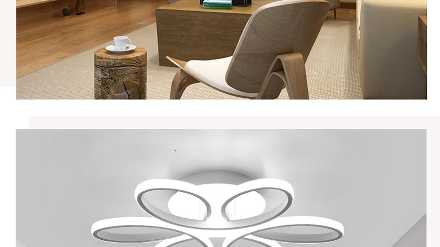 H1ef22c6369884db08231f0957b4845e6c Living room ceiling lamp led dimmable for bedroom aluminum body indoor lighting fixture plafonnier led lights dining room
