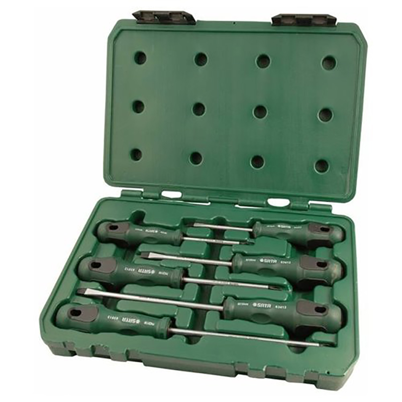 For Screwdrivers (set) 6пр. Комбинир. T-Series (Plast. CTN.) 09309 for barb set 6пр 09162