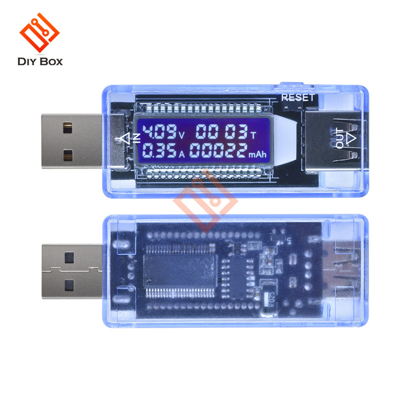 USB Charger Doctor Voltage Current Meter Working Time Power Battery Capacity Tester Measurement Tools