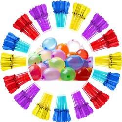 111 штуки, водные шары удивительное наполнение волшебный воздушный шар бомбы дети воды Войны Игра Поставки Дети Лето Уличная пляжная игрушка