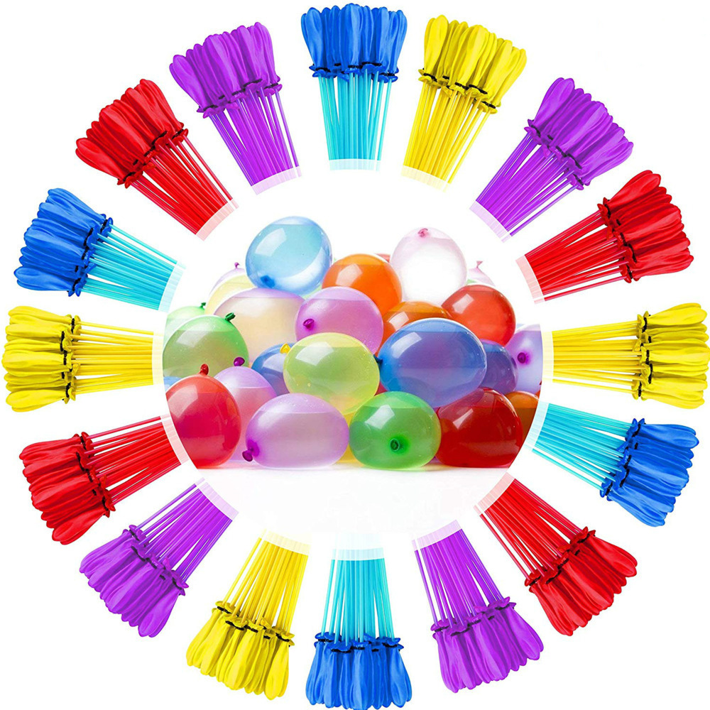 111pcs Water Balloon Amazing Filling Magic Balloon Bombs Children Water War Game Supplies Kids Summer Outdoor Beach Toy