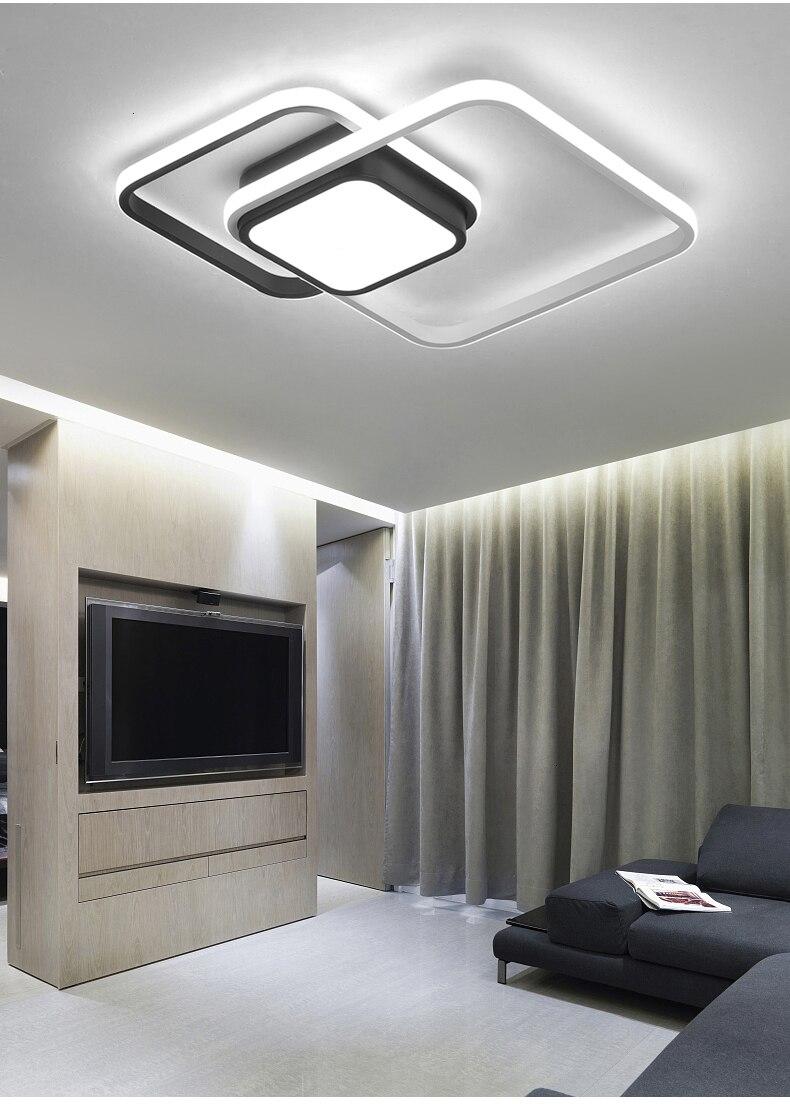 H1ef2f13d735f413ea0b7ce5c6a93e0536 New design LED Ceiling Light For Living room Dining Bedroom luminarias para teto Led Lights For Home lighting fixture modern