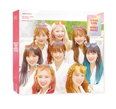 [MYKPOP] ~ 100% ORIGINAL officiel ~ WEKI MEKI: WEEK END LOL CD, KPOP Fans Collection SA19090601
