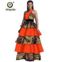 African dresses for women dress plus size party dress maxi dress dashiki print a line dress sleeveless AFRIPRIDE S1925070