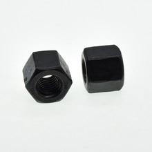 M6 M8 M12 M10 M14 M16 M18 M20 M22 M24 M27 Black Carbon Staal Hexagon Dikke Noten
