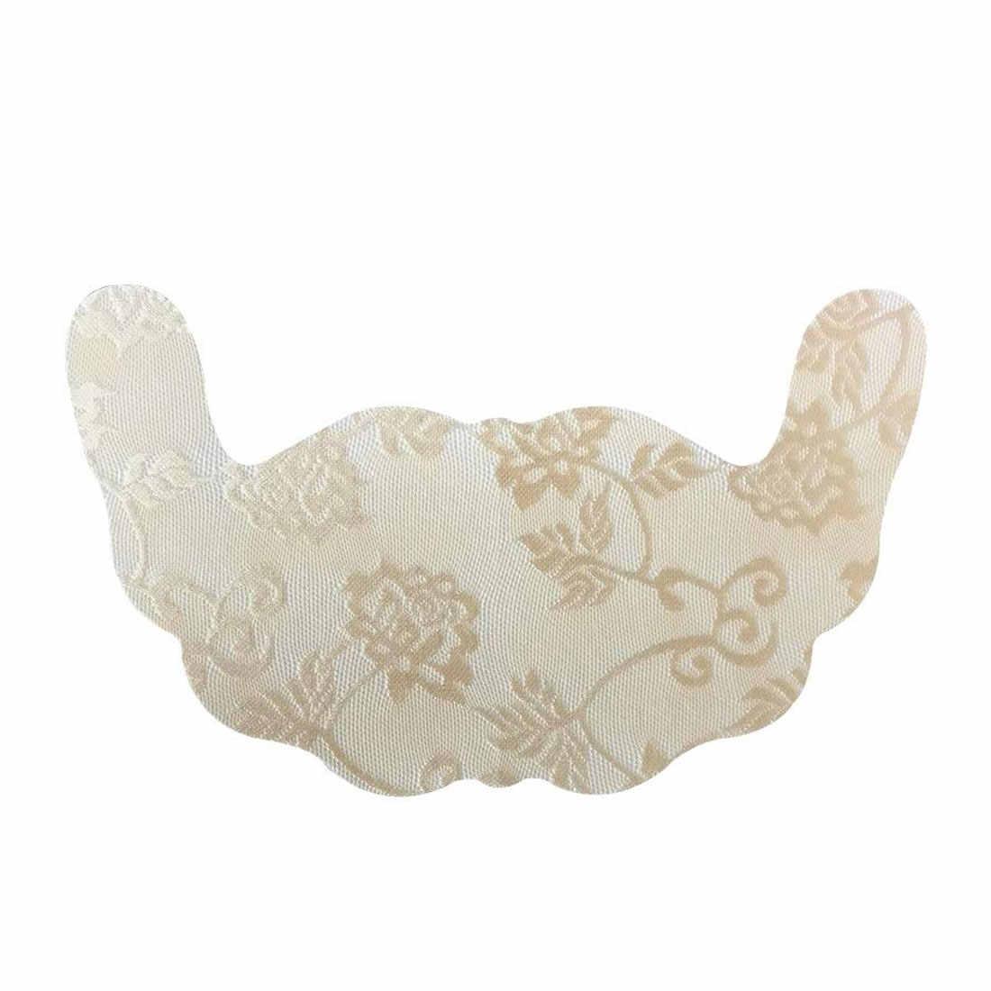 En forma de U mujeres Sexy adhesivo Push Up pezón almohadillas invisibles para levantar el pecho sujetador superior cinta adhesiva pegar desechable pasta para el pecho