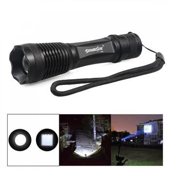 Flashlight Torch 500 Lumens Tractical Strong Light Long Range LED Flashlight XML T6 Zoomable Lamp for Night Fishing Hiking sitemap 12 xml