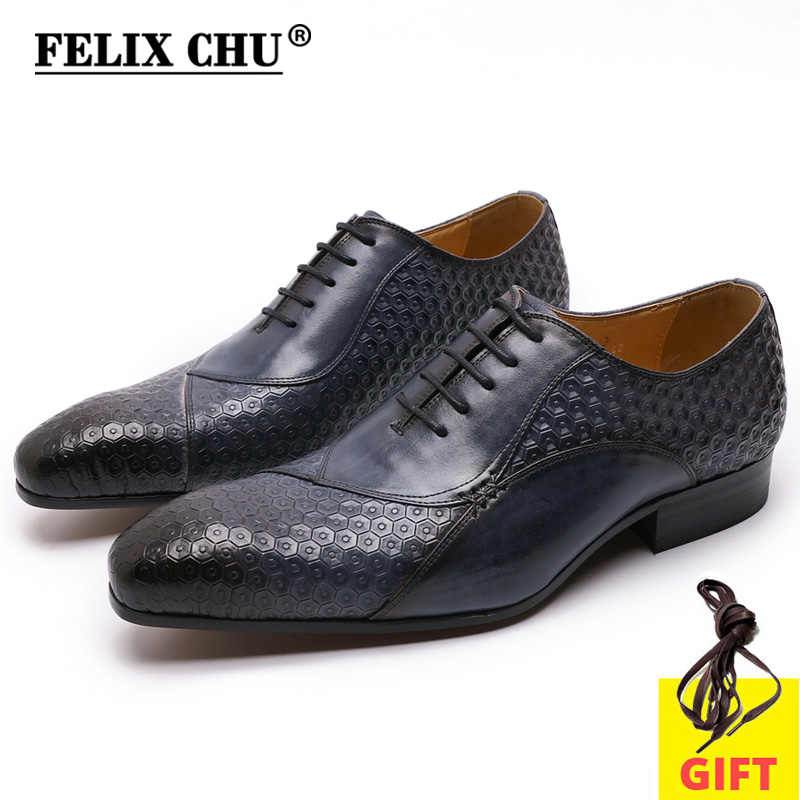 メンズ本革ビジネスイタリア正式な靴黒青レースアップファッションweddinスーツシューズ男性用オックスフォード靴