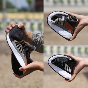 Image 4 - خفيفة الوزن الصلب تو أحذية العمل السلامة مع غطاء صلب لأصبع القدم الرجال غير قابل للتدمير الخالد رايدر أحذية تنفس أحذية التنس