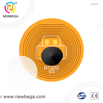 10 шт. RFID NFC FPC этикетка с клеем Подлинная Ntag213 DIA10mm 13,56 МГц Бесплатная доставка
