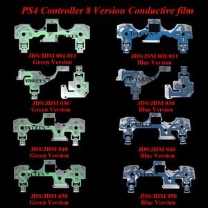 Image 2 - IVYUEEN ل بلاي ستيشن 4 PS4 برو سليم تحكم غشاء موصل لوحة المفاتيح الكابلات المرنة ل Dualshock 4 الشريط لوحة دوائر كهربائية JDS 050