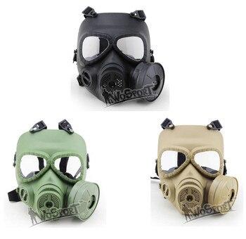 WoSporT Пейнтбол CS полная защита лица воздушная фильтрация Манекен газ Защита лица турбо вентилятор системы