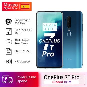 Перейти на Алиэкспресс и купить OnePlus 7T Pro Global ROM Snapdragon 855 Plus 8 Гб 256 ГБ 6,67 ''жидкий AMOLED 90 Гц экран 48 МП Тройная камера 4085 мАч