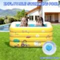 Надувной бассейн, Четырехслойный детский бассейн для купания