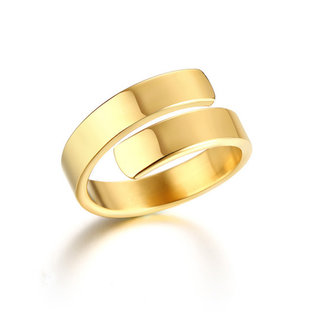 Silver Smooth Design Men or Women Ring Fashion Finger Ring  Jewelry Gift Nice NGXJZ 1