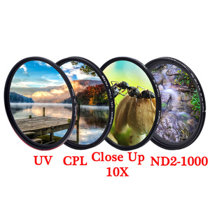 Image 1 - KnightX MCUV UV CPL ND Star line ND2 ND1000 variable polarizer colse up Macro Camera dslr Lens Filter colored light photo color