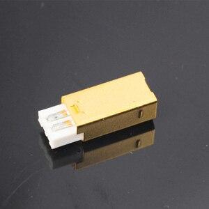 Image 3 - MPS HD 019 HiFi USB 2.0 אודיו מחבר תקעים טהור נחושת אודיו שקע מחבר 24K 5u זהב מצופה DAC USB 2.0 מחבר סוג B