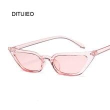 Очки солнцезащитные женские винтажные, брендовые дизайнерские ретро солнечные очки «кошачий глаз», красные розовые