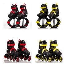 Inline Skates Jump Sports Skate Shoes for Kids Children Jump