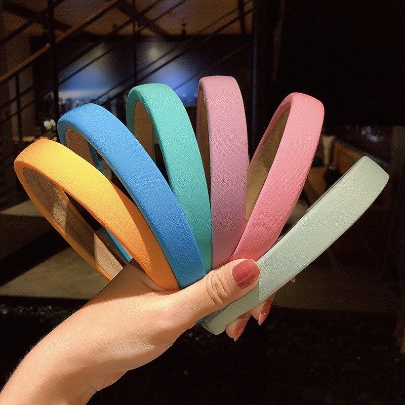 Купить обруч для волос с s образной губкой 12 цветов 2020