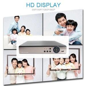Image 5 - 5 w 1 4MP AHD DVR NVR XVR CCTV 4Ch 8Ch 16Ch 1080P 3MP 5MP hybrydowy bezpieczeństwa nagrywarka DVR Onvif RS485 koncentryczne kontroli P2P