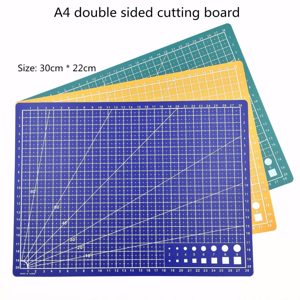 A4 / 30 * 22cm 4-color Double-sided Cutting Pad Student's Cultural And Educational Tools
