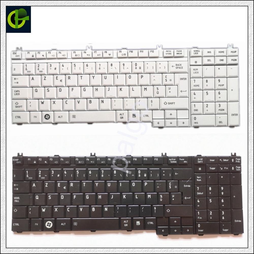 Французская Azerty клавиатура для Toshiba Qosmio G50 G55 F60 X205 X305 X505 F750 F755 Tecra A11 S11 с номером pad FR