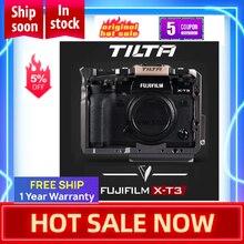 TILTA Cage for Fujifilm XT3 X T3 and X T2 DSLR Camera Handle Grip fujifilm xt3 Cage Case Accessories VS SmallRig Cage