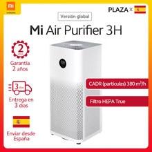 Purificador de aire Mi 3H versión europea, filtro HEPA auténtico, aplicación de limpiador de aire + Control de voz inteligente IA, pantalla táctil OLED, sensor láser PM