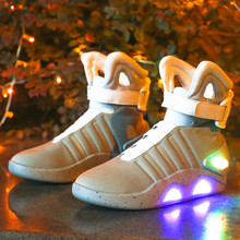 Adults Basketball Shoes USB Charging Led