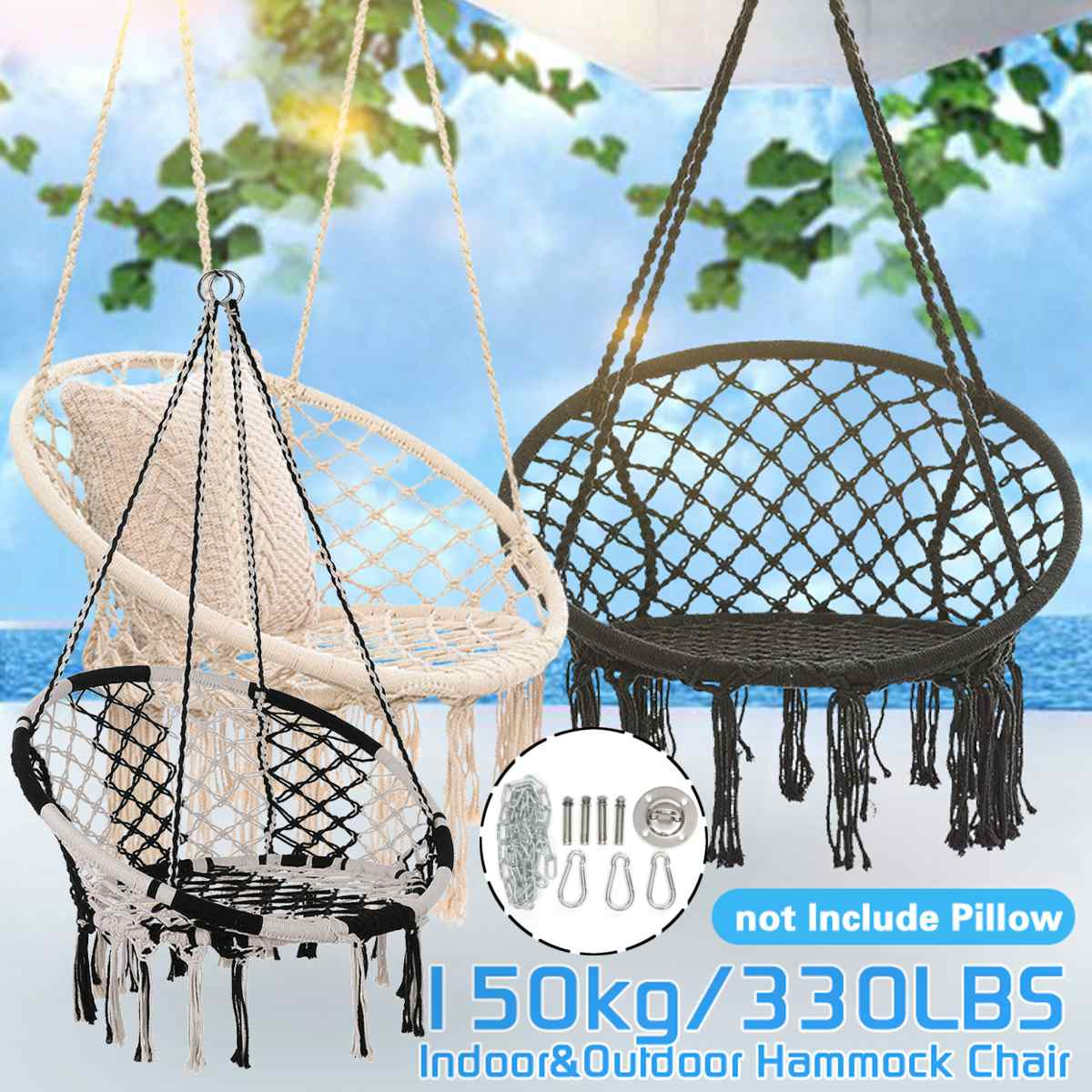 Hammock Mount Swing Hanging Trapeze Hanger Stainless Steel Base Ceiling Hooks Suspension Yoga Hammock Hanging Chair Accessories