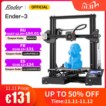 Ender 3 3D Printer Kit Large Print Size Ender3/Ender 3X Printers Continuation Print Power Creality 3D