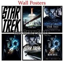 Star Trek White Kraft Paper poster Wall Poster Art Crafts Cafe Bar Decor Sticker 42X30cm