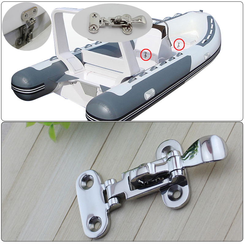 Image 5 - 3 Pcs 110mm Marine Boat Deck Locker Anti Rattle Latch Fastener 316 Stainless Steel Lockable Hold Down Clamp Hasp Free Shipping-in Marine Hardware from Automobiles & Motorcycles