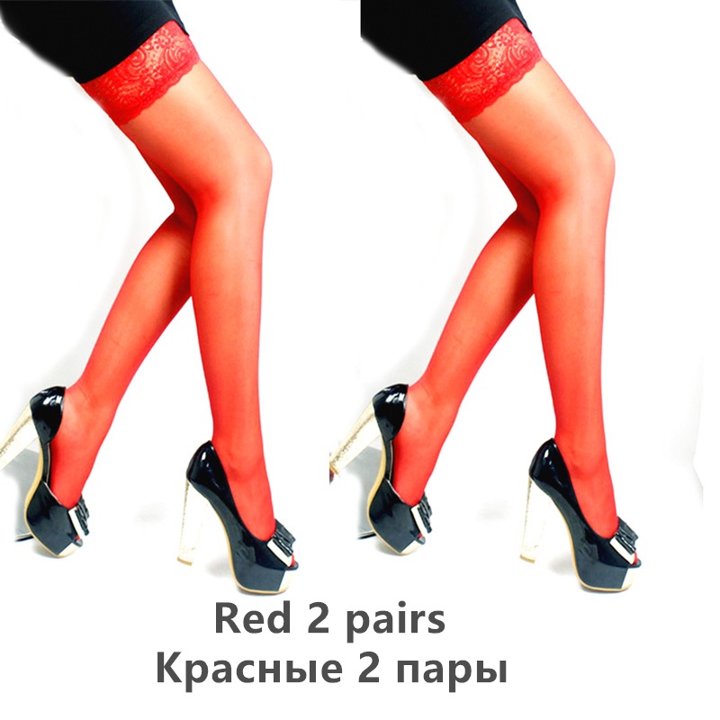 H1ef5c3abdef543ff8303d262423f53313 - Thigh High Stocking Women Summer Over knee Socks Sexy girl Female Hosiery Nylon Lace Style Stay Up Stockings Plus Size