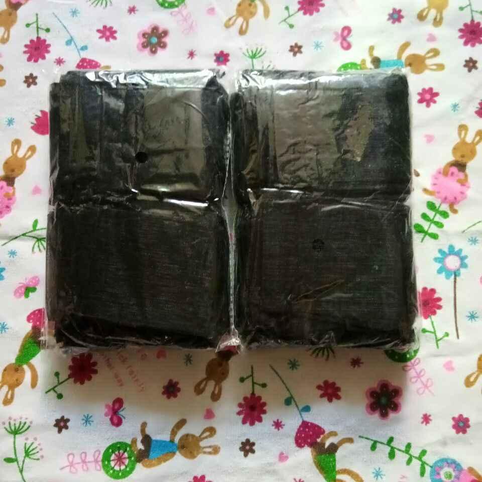 100 قطعة/الوحدة 7x9 9x12 10x15 15x20 cm الرباط أكياس أورجانزا الأسود مجوهرات الحقائب حقائب للهدايا الزفاف التعبئة والتغليف أكياس
