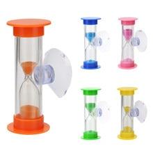 2min ampulheta crianças dentes escova temporizador com jogo de sucção areia relógio vidro temporizador copo montessory crianças brinquedos decoração da sua casa