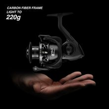Piscifun Carbon X Spinning Reel Light to 162g 5.2:1 / 6.2:1 Gear Ratio 11 BB 1000 2000 3000 4000 Saltwater Fishing Reel