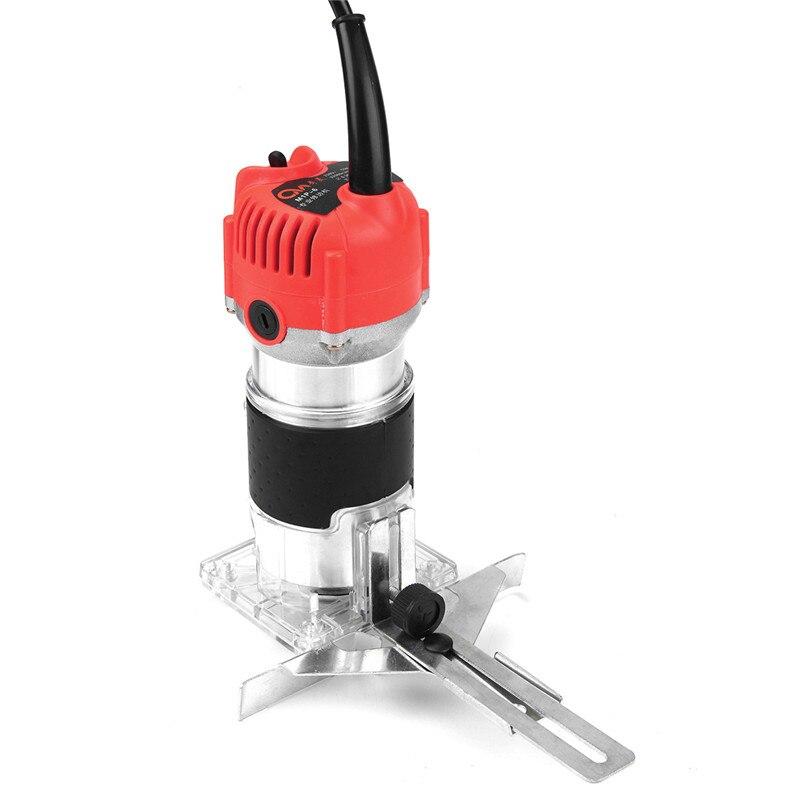 Bois électrique tondeuse à main 220V 800W 30000r/min pince 6.35mm AU Plug filaire bois plastifieuse routeur menuisiers aluminium outils électriques