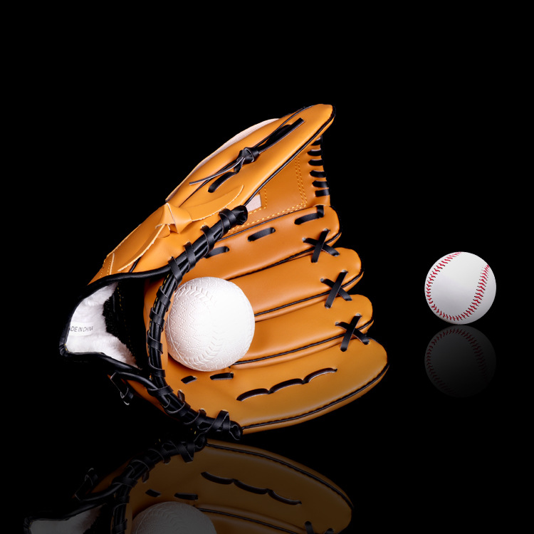 Leather Baseball Glove Right Baseball Equipment Batting Catcher Practice Hand Weighted Guante Beisbol Sports Accessories BJ50ST