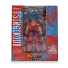 Anime Dragon ball Z SHF Figuarts Super Saiyan Son Goku Joint Movable PVC Action Figure Collection Model Kids  Doll DIY Toy 15 cm