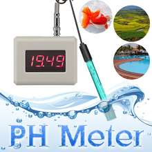 Digitale PH orp Monitor LCD Display Messung Tools Kit Wasser Qualität Monitor Tester Meter(China)